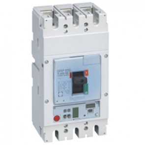 MCCB DPX³ 630 - S2 electronic release - 3P - Icu 36 kA (400 V~) - In 630 A