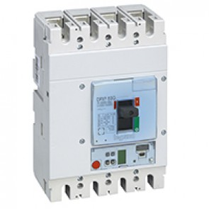MCCB DPX³ 630 - S2 electronic release - 4P - Icu 36 kA (400 V~) - In 250 A