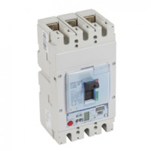 MCCB DPX³ 630 - S2 electronic release - 3P - Icu 50 kA (400 V~) - In 400 A
