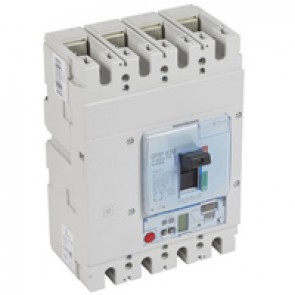 MCCB DPX³ 630 - S2 electronic release - 4P - Icu 50 kA (400 V~) - In 630 A