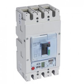 MCCB DPX³ 630 - S2 electronic release - 3P - Icu 100 kA (400 V~) - In 250 A