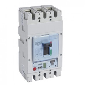 MCCB DPX³ 630 - S2 electronic release - 3P - Icu 100 kA (400 V~) - In 400 A