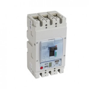 MCCB DPX³ 630 - S2 electronic release - 3P - Icu 100 kA (400 V~) - In 630 A
