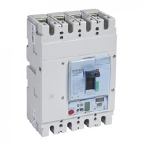 MCCB DPX³ 630 - S2 electronic release - 4P - Icu 100 kA (400 V~) - In 400 A