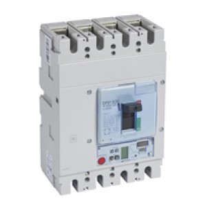 MCCB DPX³ 630 - S2 electronic release - 4P - Icu 100 kA (400 V~) - In 630 A
