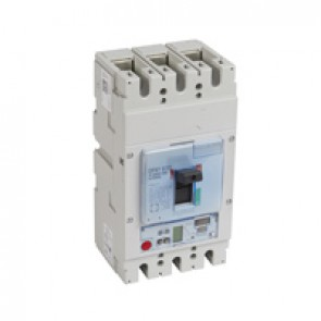 MCCB DPX³ 630 - S2 elec release + central - 3P - Icu 36 kA (400 V~) - In 250 A