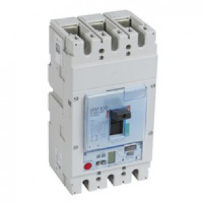 MCCB DPX³ 630 - S2 elec release + central - 3P - Icu 36 kA (400 V~) - In 630 A