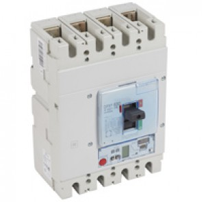 MCCB DPX³ 630 - S2 elec release + central - 4P - Icu 36 kA (400 V~) - In 400 A