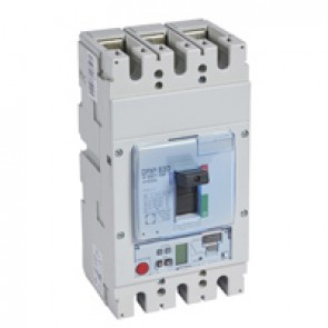 MCCB DPX³ 630 - S2 elec release + central - 3P - Icu 50 kA (400 V~) - In 250 A