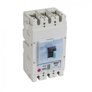 MCCB DPX³ 630 - S2 elec release + central - 3P - Icu 50 kA (400 V~) - In 630 A