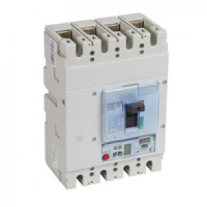 MCCB DPX³ 630 - S2 elec release + central - 4P - Icu 50 kA (400 V~) - In 400 A
