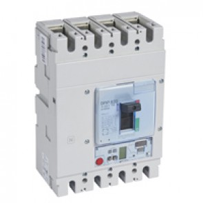 MCCB DPX³ 630 - S2 elec release + central - 4P - Icu 50 kA (400 V~) - In 630 A