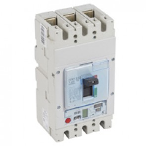 MCCB DPX³ 630 - S2 elec release + central - 3P - Icu 70 kA (400 V~) - In 250 A
