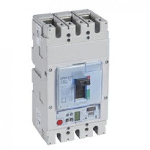 MCCB DPX³ 630 - S2 elec release + central - 3P - Icu 70 kA (400 V~) - In 400 A