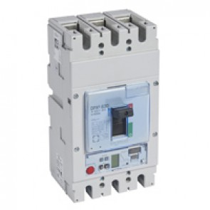 MCCB DPX³ 630 - S2 elec release + central - 3P - Icu 70 kA (400 V~) - In 630 A