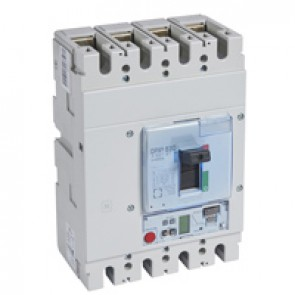 MCCB DPX³ 630 - S2 elec release + central - 4P - Icu 70 kA (400 V~) - In 250 A