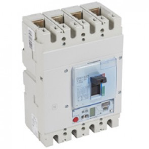 MCCB DPX³ 630 - S2 elec release + central - 4P - Icu 70 kA (400 V~) - In 400 A