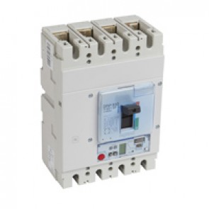 MCCB DPX³ 630 - S2 elec release + central - 4P - Icu 70 kA (400 V~) - In 630 A