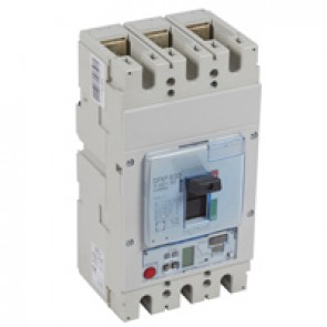 MCCB DPX³ 630 - S2 elec release + central - 3P - Icu 100 kA (400 V~) - In 630 A