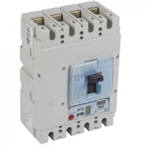 MCCB DPX³ 630 - S2 elec release + central - 4P - Icu 100 kA (400 V~) - In 630 A