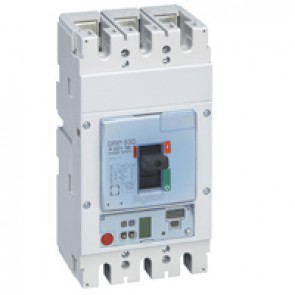 MCCB DPX³ 630 - Sg electronic release - 3P - Icu 36 kA (400 V~) - In 400 A