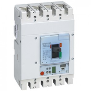 MCCB DPX³ 630 - Sg electronic release - 4P - Icu 36 kA (400 V~) - In 400 A