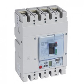 MCCB DPX³ 630 - Sg electronic release - 4P - Icu 50 kA (400 V~) - In 630 A