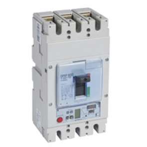MCCB DPX³ 630 - Sg electronic release - 3P - Icu 100 kA (400 V~) - In 630 A