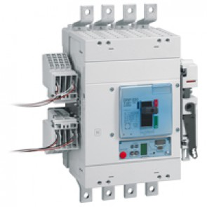 MCCB DPX³ 630 - Sg electronic release - 4P - Icu 100 kA (400 V~) - In 630 A