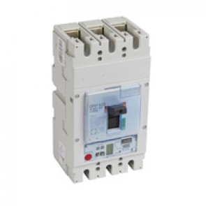 MCCB DPX³ 630 - Sg elec release + central - 3P - Icu 36 kA (400 V~) - In 630 A