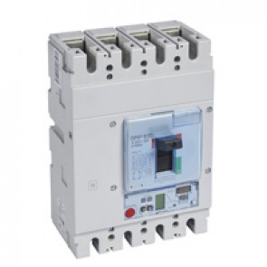 MCCB DPX³ 630 - Sg elec release + central - 4P - Icu 36 kA (400 V~) - In 630 A