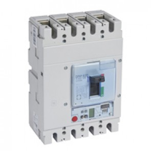 MCCB DPX³ 630 - Sg elec release + central - 4P - Icu 50 kA (400 V~) - In 400 A
