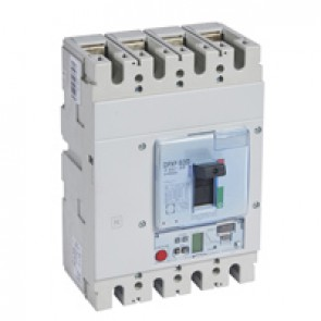 MCCB DPX³ 630 - Sg elec release + central - 4P - Icu 50 kA (400 V~) - In 630 A