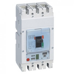 MCCB DPX³ 630 - Sg elec release + central - 3P - Icu 70 kA (400 V~) - In 400 A