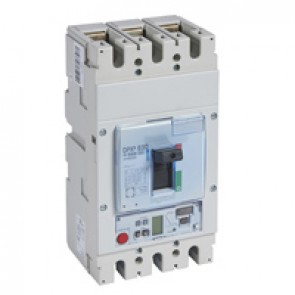 MCCB DPX³ 630 - Sg elec release + central - 3P - Icu 70 kA (400 V~) - In 630 A