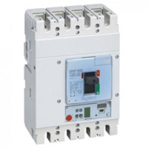 MCCB DPX³ 630 - Sg elec release + central - 4P - Icu 100 kA (400 V~) - In 400 A