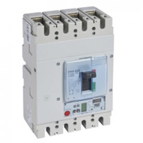 MCCB DPX³ 630 - Sg elec release + central - 4P - Icu 100 kA (400 V~) - In 630 A