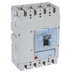 DPX³-I 630 - trip-free switches - 4P - In 400 A
