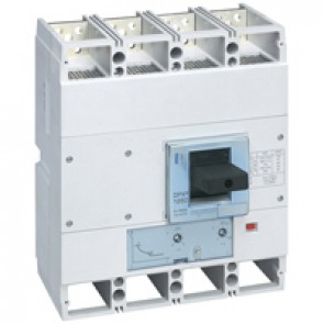 MCCB DPX³ 1600 - thermal magnetic release - 4P - Icu 36 kA (400 V~) - In 1250 A