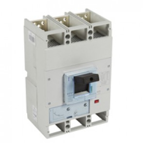 MCCB DPX³ 1600 - thermal magnetic release - 3P - Icu 50 kA (400 V~) - In 800 A