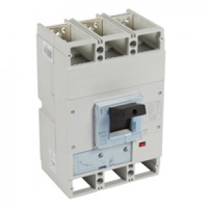 MCCB DPX³ 1600 - thermal magnetic release - 3P - Icu 50 kA (400 V~) - In 1250 A