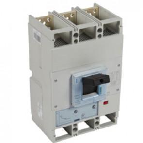 MCCB DPX³ 1600 - thermal magnetic release - 3P - Icu 70 kA (400 V~) - In 630 A