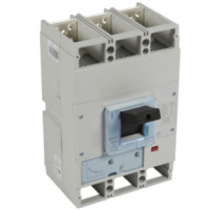 MCCB DPX³ 1600 - thermal magnetic release - 3P - Icu 70 kA (400 V~) - In 1000 A