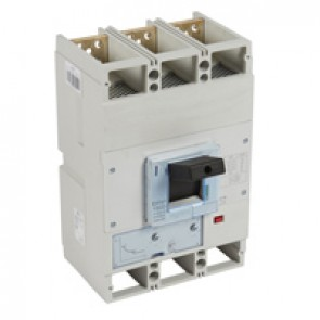 MCCB DPX³ 1600 - thermal magnetic release - 3P - Icu 100 kA (400 V~) - In 630 A