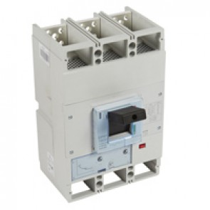 MCCB DPX³ 1600 - thermal magnetic release - 3P - Icu 100 kA (400 V~) - In 800 A