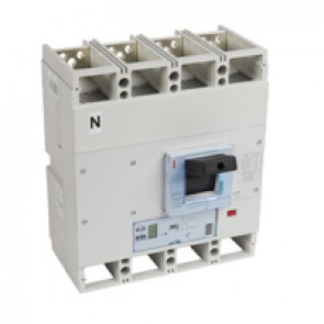 MCCB DPX³ 1600 - S2 electronic release - 4P - Icu 36 kA (400 V~) - In 800 A