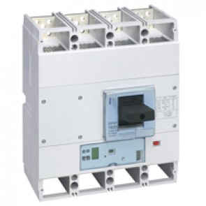 MCCB DPX³ 1600 - S2 electronic release - 4P - Icu 70 kA (400 V~) - In 1600 A