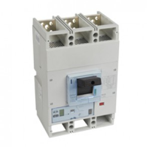 MCCB DPX³ 1600 - S2 electronic release - 3P - Icu 100 kA (400 V~) - In 800 A