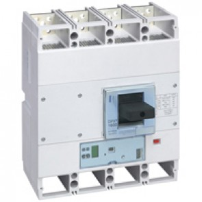 MCCB DPX³ 1600 - S2 elec release + central - 4P - Icu 36 kA (400 V~) - In 800 A