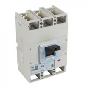 MCCB DPX³ 1600 - S2 elec release + central - 3P - Icu 100 kA (400 V~) - In 630 A